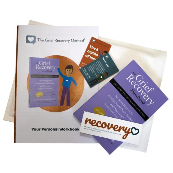 Grief Recovery Handbook with workbook